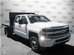 2017 Silverado 3500 Crew Cab DRW 4x2,  Knapheide Value-Master X Platform Body #M117462 - photo 3