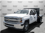 2017 Silverado 3500 Crew Cab DRW 4x2,  Knapheide Value-Master X Platform Body #M117462 - photo 4