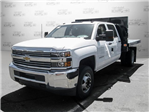 2017 Silverado 3500 Crew Cab DRW 4x2,  Knapheide Value-Master X Platform Body #M117462 - photo 7