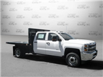 2017 Silverado 3500 Crew Cab DRW 4x2,  Knapheide Value-Master X Platform Body #M117462 - photo 8