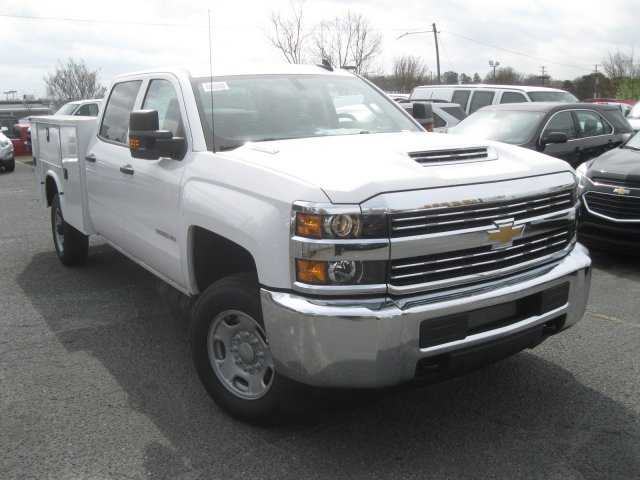 2017 Silverado 2500 Crew Cab 4x4, Knapheide Service Body #M117838 - photo 3