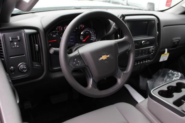 2018 Silverado 3500 Regular Cab DRW, Knapheide Value-Master X Platform Body #M119526 - photo 6