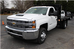 2018 Silverado 3500 Regular Cab DRW, Knapheide Value-Master X Platform Body #M119526 - photo 3