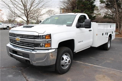 2018 Silverado 3500 Regular Cab DRW 4x2,  Knapheide Standard Service Body #M120862 - photo 4