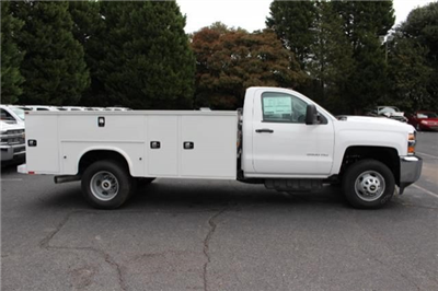 2018 Silverado 3500 Regular Cab DRW 4x2,  Knapheide Standard Service Body #M120862 - photo 8
