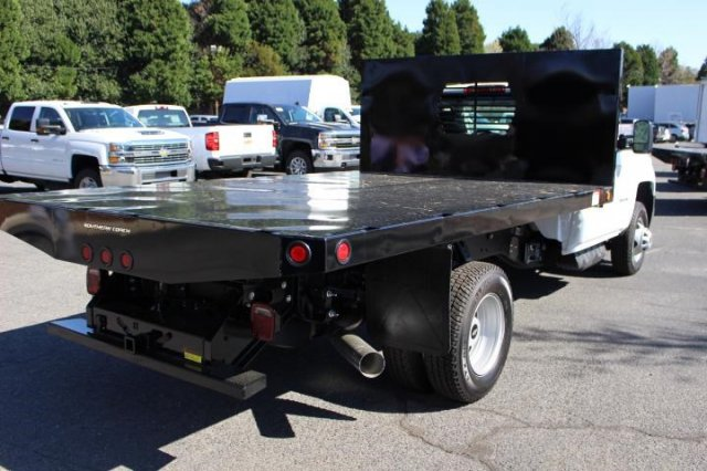 2018 Silverado 3500 Regular Cab DRW 4x4,  Freedom Platform Body #M121519 - photo 2