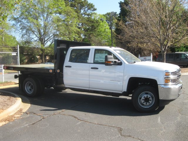 2017 Silverado 3500 Crew Cab 4x4 Platform Body #M132996 - photo 13