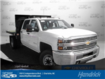 2017 Silverado 3500 Crew Cab 4x4 Platform Body #M132996 - photo 1