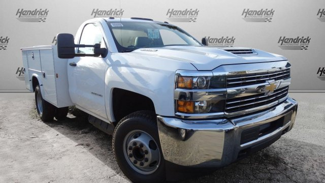 2018 Silverado 3500 Regular Cab DRW, Knapheide Standard Service Body #M133955 - photo 34