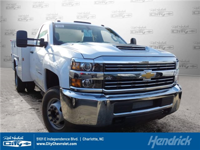 2018 Silverado 3500 Regular Cab DRW, Knapheide Standard Service Body #M133955 - photo 1