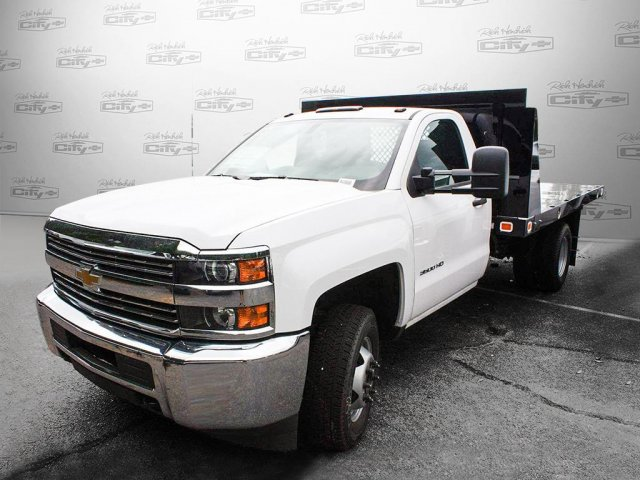 2017 Silverado 3500 Regular Cab Platform Body #M134466 - photo 9