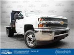 2017 Silverado 3500 Regular Cab Platform Body #M134466 - photo 1