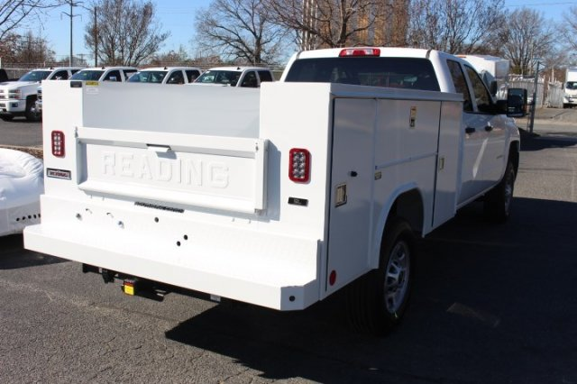 2019 Silverado 2500 Double Cab 4x2,  Reading SL Service Body #M141354 - photo 2