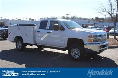 2019 Silverado 2500 Double Cab 4x2,  Reading SL Service Body #M141354 - photo 1
