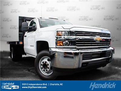 2017 Silverado 3500 Regular Cab DRW, Knapheide Value-Master X Platform Body #M147545 - photo 1