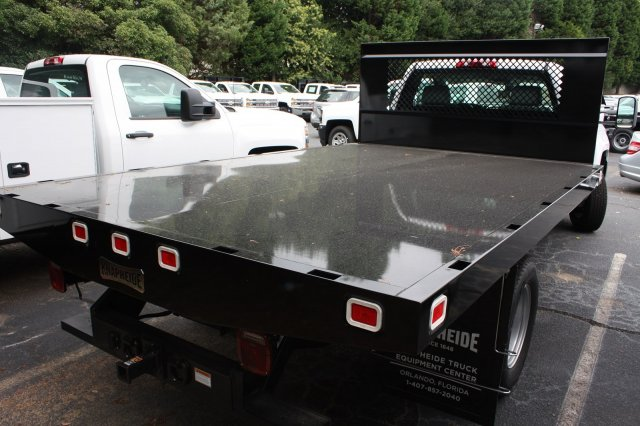 2017 Silverado 3500 Regular Cab, Knapheide Platform Body #M148496 - photo 2
