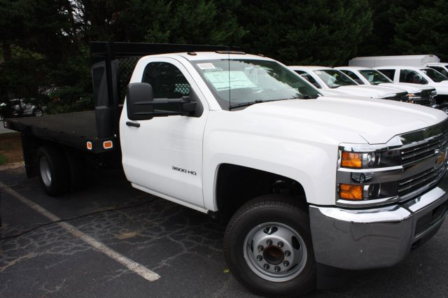 2017 Silverado 3500 Regular Cab, Knapheide Platform Body #M148496 - photo 8
