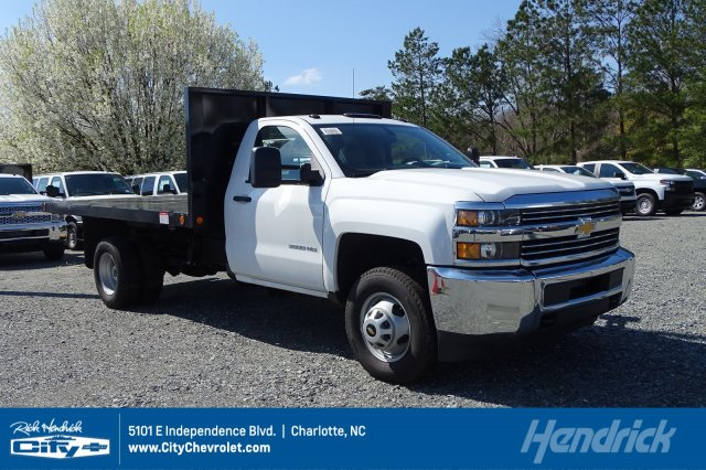 2019 Silverado 3500 Regular Cab DRW 4x4,  Knapheide Platform Body #M155158 - photo 1