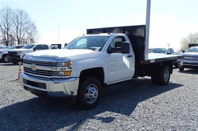 2019 Silverado 3500 Regular Cab DRW 4x4,  Knapheide Value-Master X Platform Body #M155158 - photo 3