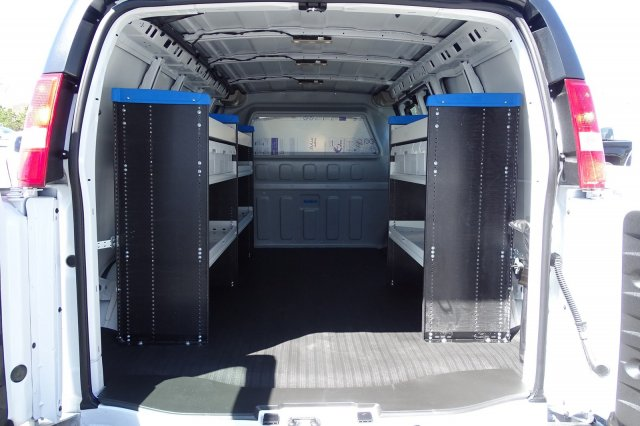2019 Express 2500 4x2,  Sortimo Shelf Staxx Upfitted Cargo Van #M169587 - photo 2