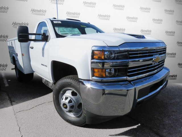 2018 Silverado 3500 Regular Cab DRW 4x2,  Knapheide Service Body #M180571 - photo 29