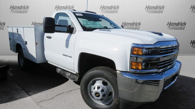 2018 Silverado 3500 Regular Cab DRW 4x2,  Knapheide Service Body #M180571 - photo 34