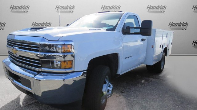 2018 Silverado 3500 Regular Cab DRW 4x2,  Knapheide Service Body #M180571 - photo 35