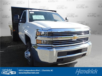 2017 Silverado 3500 Regular Cab DRW,  Freedom Workhorse Platform Body #M185804 - photo 1