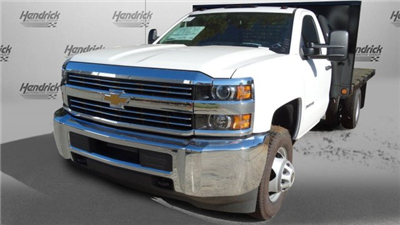 2017 Silverado 3500 Regular Cab DRW,  Freedom Workhorse Platform Body #M185804 - photo 4