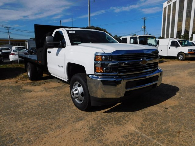 2017 Silverado 3500 Regular Cab DRW 4x2,  Freedom Workhorse Platform Body #M186949 - photo 3