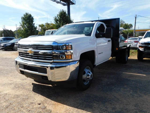 2017 Silverado 3500 Regular Cab DRW 4x2,  Freedom Workhorse Platform Body #M186949 - photo 5