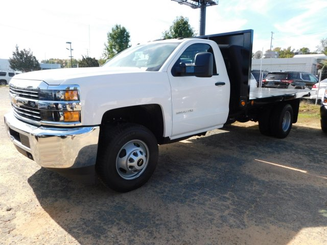 2017 Silverado 3500 Regular Cab DRW 4x2,  Freedom Workhorse Platform Body #M186949 - photo 6