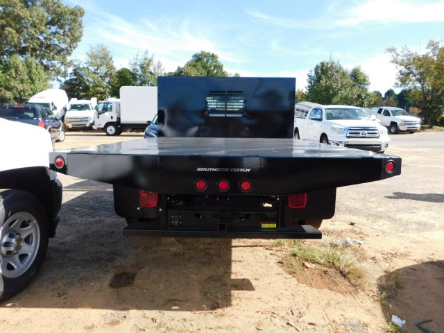 2017 Silverado 3500 Regular Cab DRW 4x2,  Freedom Workhorse Platform Body #M186949 - photo 8