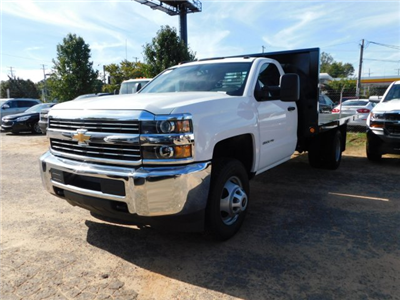 2017 Silverado 3500 Regular Cab DRW,  Platform Body #M186949 - photo 4