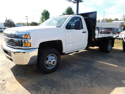 2017 Silverado 3500 Regular Cab DRW,  Platform Body #M186949 - photo 5