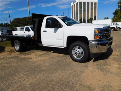 2017 Silverado 3500 Regular Cab DRW 4x2,  Freedom Workhorse Platform Body #M186949 - photo 7