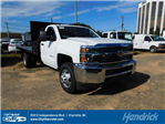 2017 Silverado 3500 Regular Cab DRW 4x2,  Freedom Workhorse Platform Body #M186949 - photo 1