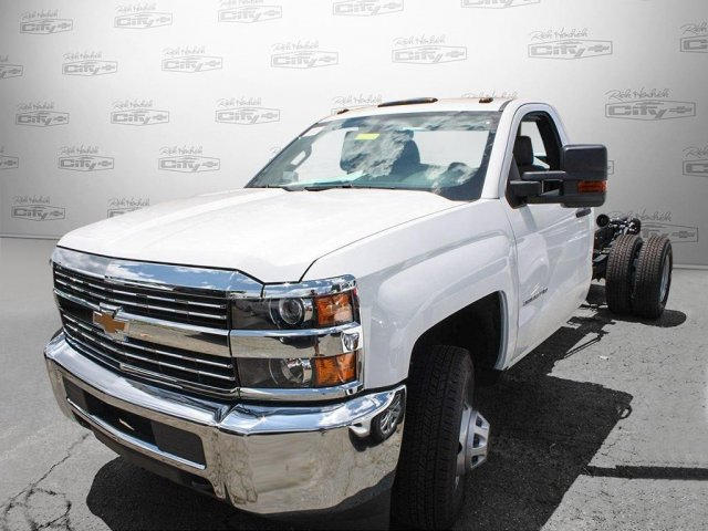 2017 Silverado 3500 Regular Cab Cab Chassis #M198506 - photo 8