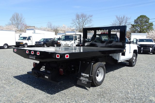 2019 Silverado 3500 Regular Cab DRW 4x2,  Knapheide Platform Body #M199941 - photo 1