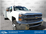 2017 Silverado 3500 Crew Cab DRW, Reading Classic II Steel Service Body #M217983 - photo 1