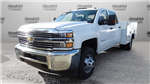 2017 Silverado 3500 Crew Cab DRW, Reading Classic II Steel Service Body #M217983 - photo 36