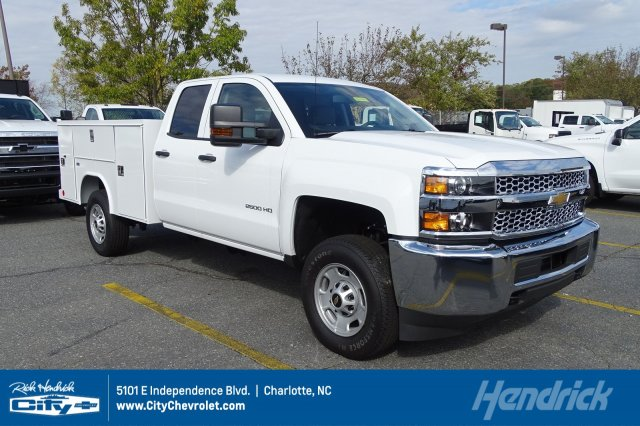 2019 Silverado 2500 Double Cab 4x2, Knapheide Service Body #M220689 - photo 1