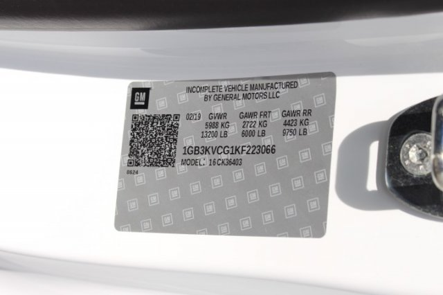 2019 Silverado 3500 Regular Cab DRW 4x4,  Reading SL Service Body #M223066 - photo 17