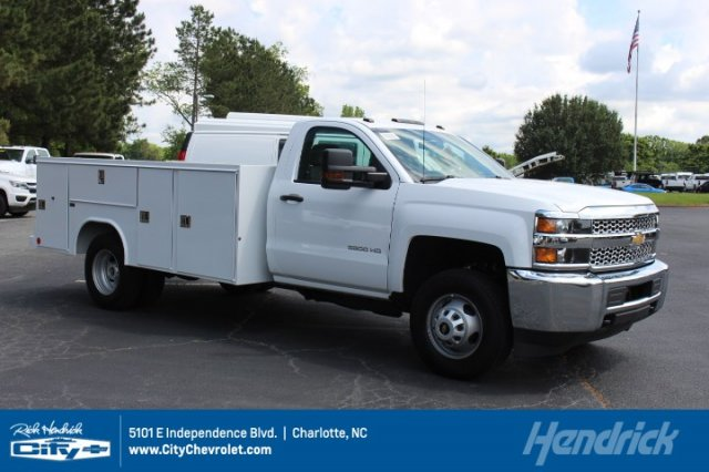 2019 Silverado 3500 Regular Cab DRW 4x4,  Cab Chassis #M225657 - photo 1