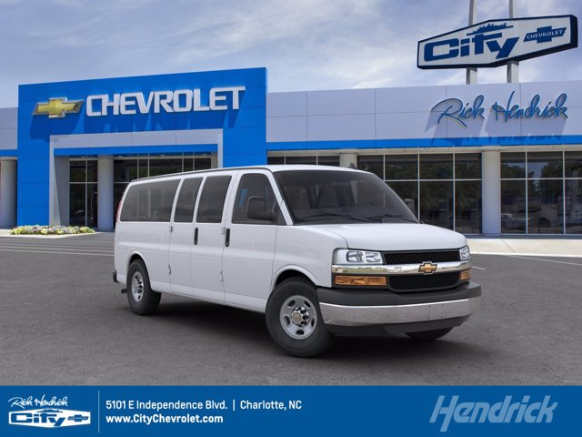 2020 Chevrolet Express 3500 4x2, Passenger Wagon #M228055 - photo 1