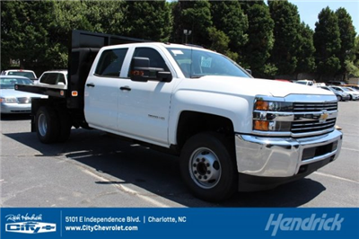 2018 Silverado 3500 Crew Cab DRW 4x2,  Knapheide Value-Master X Platform Body #M229937 - photo 1
