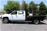 2018 Silverado 3500 Crew Cab DRW 4x2,  Knapheide Value-Master X Platform Body #M229937 - photo 5