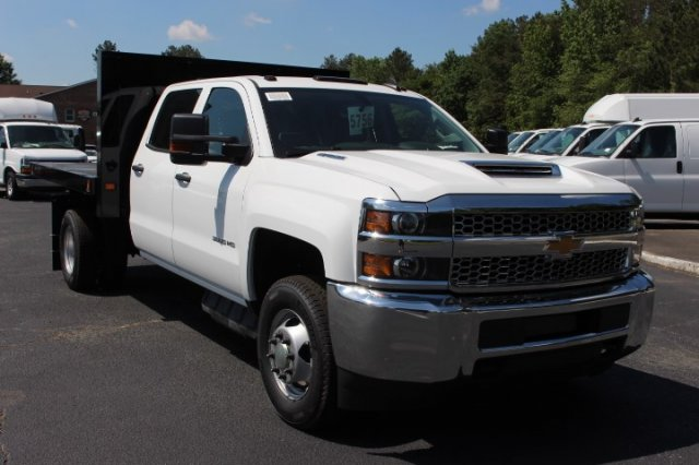 2019 Silverado 3500 Crew Cab DRW 4x4,  Knapheide Value-Master X Platform Body #M240957 - photo 3