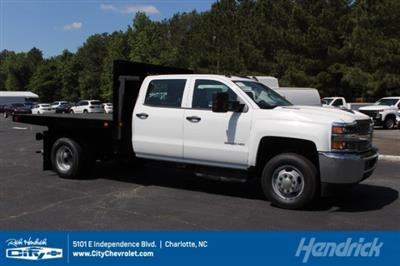 2019 Silverado 3500 Crew Cab DRW 4x4,  Knapheide Value-Master X Platform Body #M240957 - photo 1