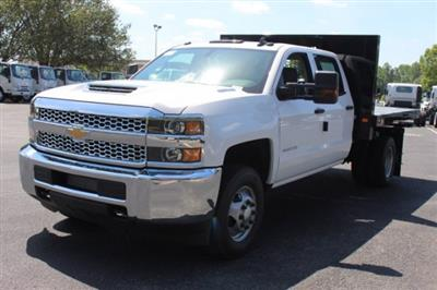 2019 Silverado 3500 Crew Cab DRW 4x4,  Knapheide Value-Master X Platform Body #M240957 - photo 4